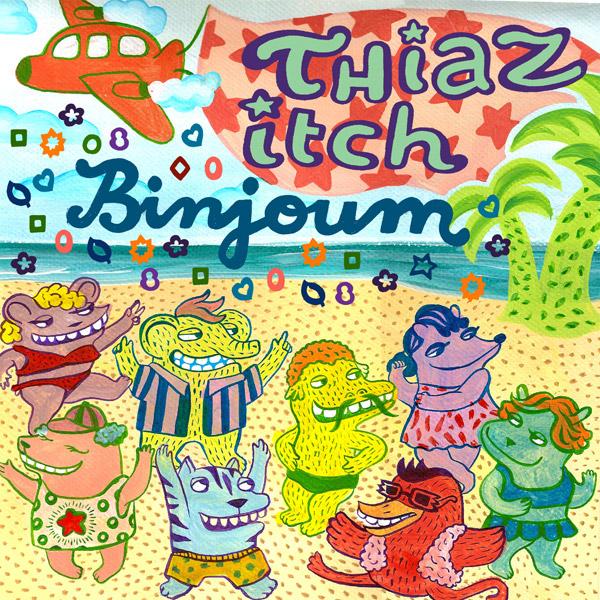 Thiaz Itch – »Binjoum« (Bedroom Research Netlabel)