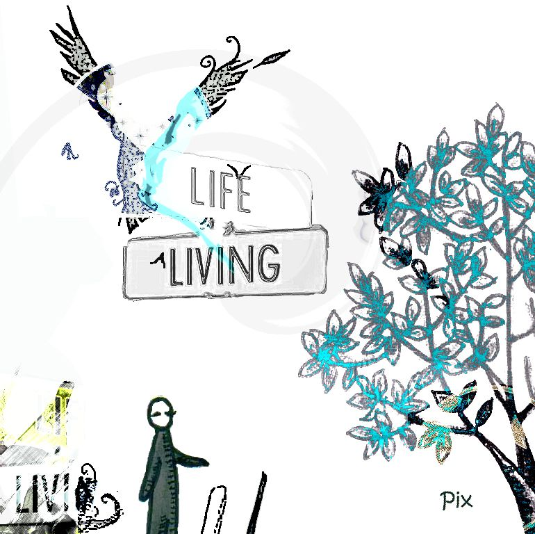 Listen to Pix – »Life Living« (Fresh Poulp)