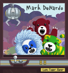 Mark Denardo – »Lion, Tiger, Bear« (8bitpeoples)
