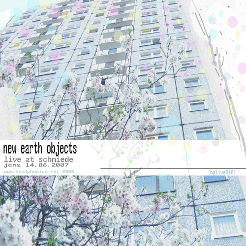 Listen to New Earth Objects – »Live at Schmiede« (Headphonica)