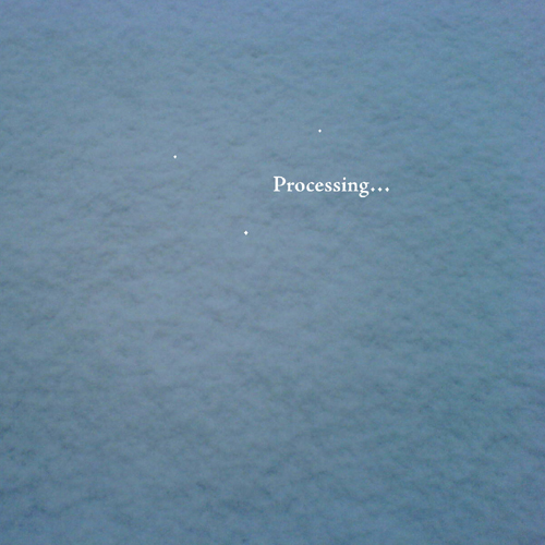 Listen to Processing… – »s/t EP« (Resting Bell)